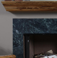Add a wood mantel shelf to your order today