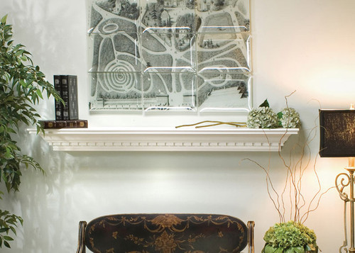 This Mantel Shelf Features Dentil Molding For A Colonial