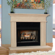 "Cast Stone Mantel for 36"" fireplaces"