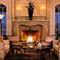 The Parc is a cast stone mantel with modern french styling