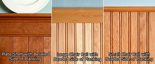 Select Plate Shelf, Large or Small Chair Rail