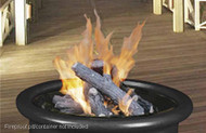 Gas Logset for your outdoor fire pit