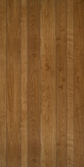 4 x 8 Sheets of Spirit Birch Plywood Paneling.  Random 9-groove pattern