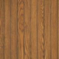 "Highland Oak Beaded Wainscot Paneling - 32""H"