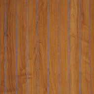 "Williamsburg Cherry Beadboard wainscoting. 48""W x 36""H.  2"" Pattern"