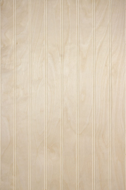 "Ready-to-finish our Birch Veneer 2"" Beadboard Paneling is shipped Unfinished"