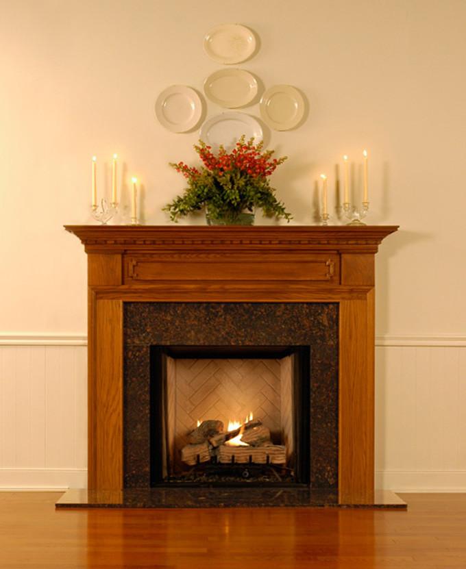 Wood Fireplace Mantel Surrounds Hamilton Americana Collection