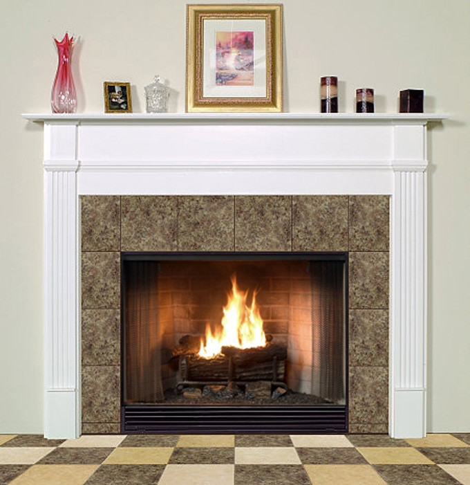 wood fireplace mantels sheridan traditional faux