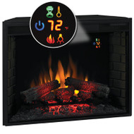 "Classic Flame 33"" Electric Fireplace Insert with on screen function display"