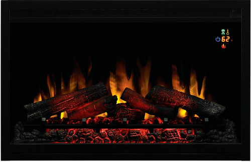 classic flame 36eb110grt 110v builder electric fireplace with onscreen display