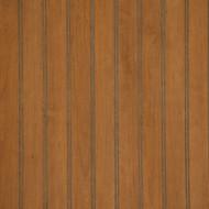 Tobacco Cherry Beadboard Paneling. Medium Brown, with red overtones.