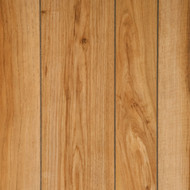 Full 4 x 8 sheet of Natural Hickory paneling - random plank separated by a groove