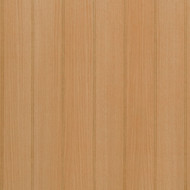 "Detail image of beaded oak paneling - Red Oak Veneer - Unfinished - 4"" bead pattern"