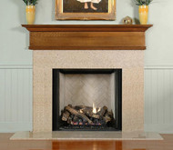 "This beautiful and stylish Mantel Shelf is 12 3/4"" Tall and available in a custom lengths and depths"