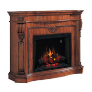Florence mantel and electric fireplace package by Classic Flame