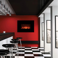 The AL40CLX Ambiance LED electric fireplace by Modern Flames.  Realistic flames