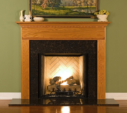 Wood Fireplace Mantel Surrounds Warren