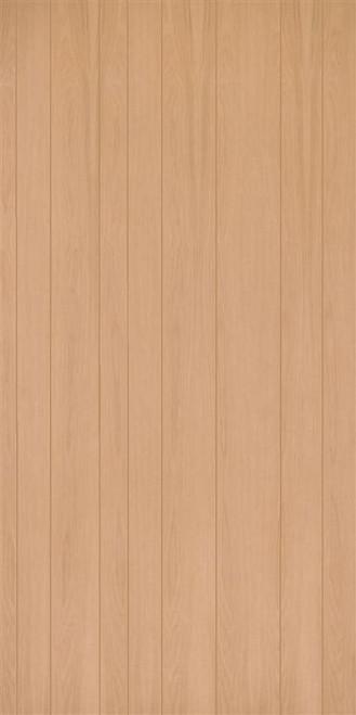 Random Plank Red Oak Veneer Wall Paneling Plywood Panels