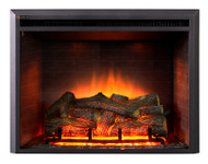 The EF45D Electric Fireplace Insert for realism and simplicity.  Lo-boy design, with no panels at the bottom