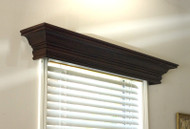 Ashland Wood Cornice.  Simple and elegant.