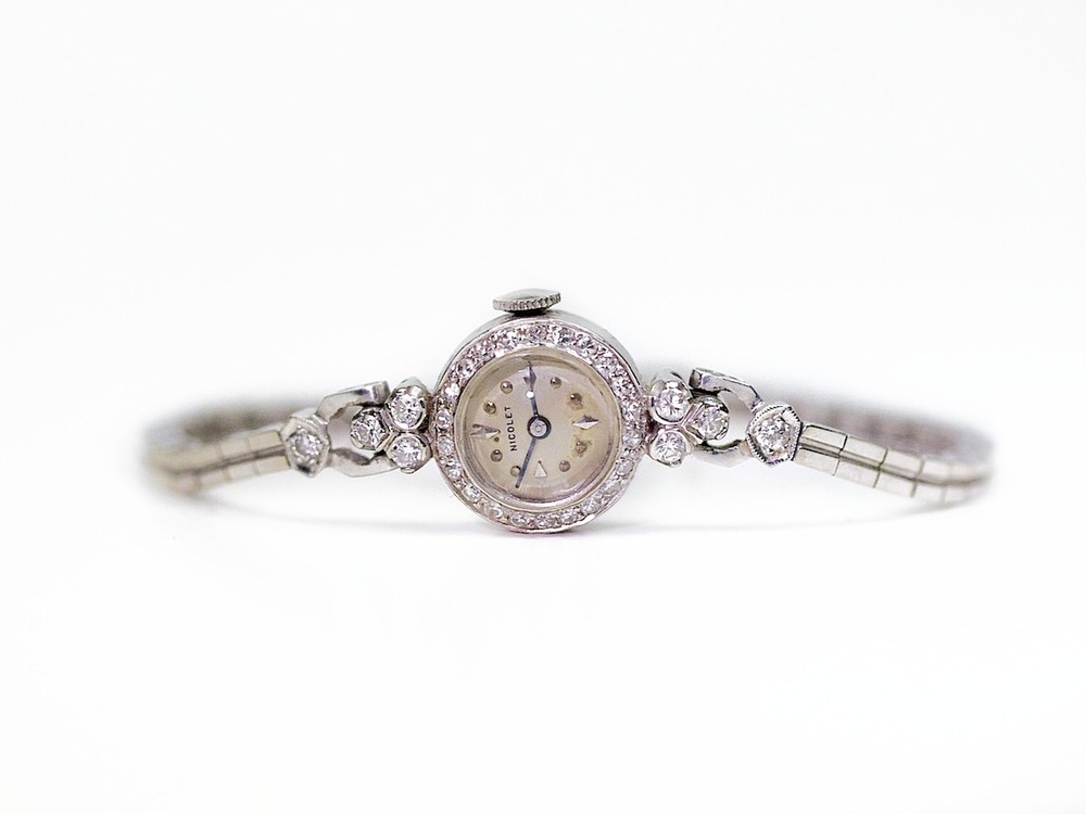 Nicolet Vintage Dress Watch