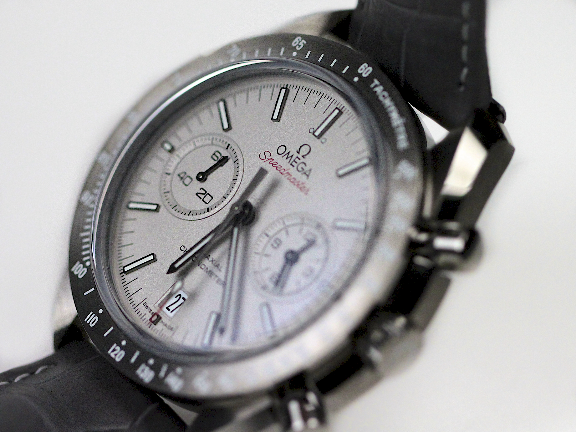 "Omega Speedmaster ""Grey Side of the Moon"" Watch Review ..."