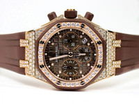Audemars Piguet Watch - Lady Royal Oak Offshore Chronograph 18K Pink Gold