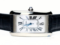Cartier Watch - Americaine Tank Large 18K White Gold