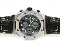 Audemars Piguet Watch - Royal Oak Offshore Blue with Gray Sub-Dials