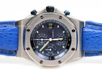 Audemars Piguet Watch - Royal Oak Offshore Blue with Blue Sub-Dials
