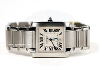 Cartier Watch - Tank Francaise Large Steel