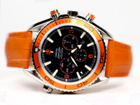 Omega Watch - Seamaster Planet Ocean Orange Steel