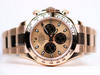 Stunning Rolex Watch- Daytona Rose Gold Bracelet 116505 ch - www.Legendoftime.com - Chicago Watch Center