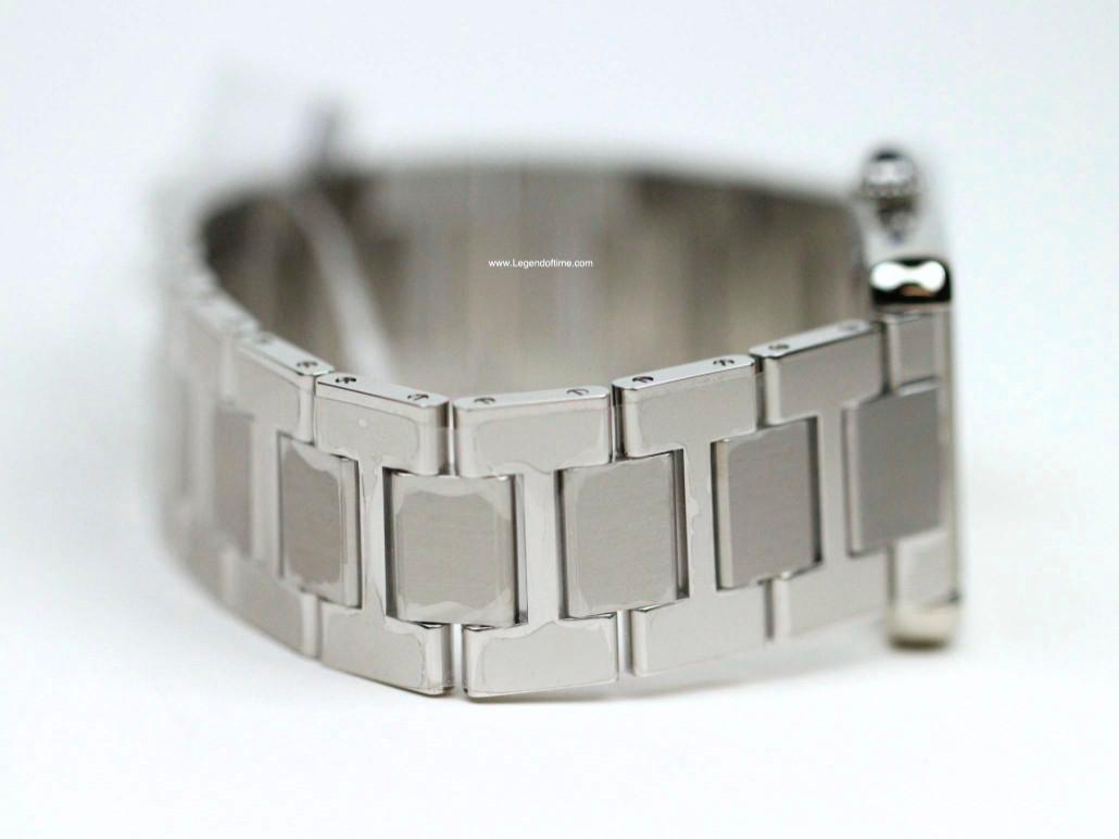 Steel Bracelet - Cartier Watch - Tank Solo XL Stainless Steel Bracelet W5200028 - New - www.Legendoftime.com - Chicago Watch Center