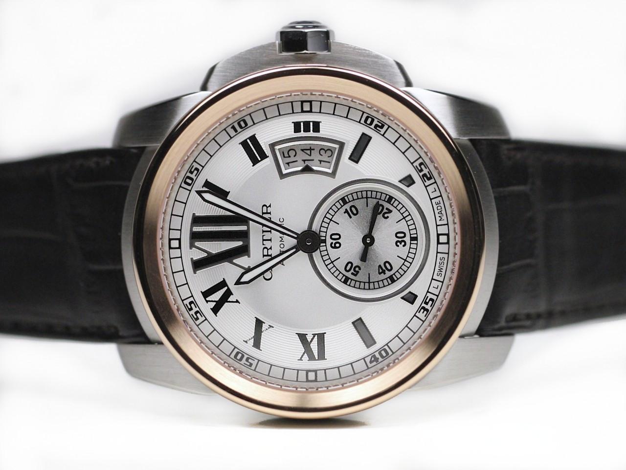 Cartier Watches Caliber De Cartier Pink Gold and Steel ...