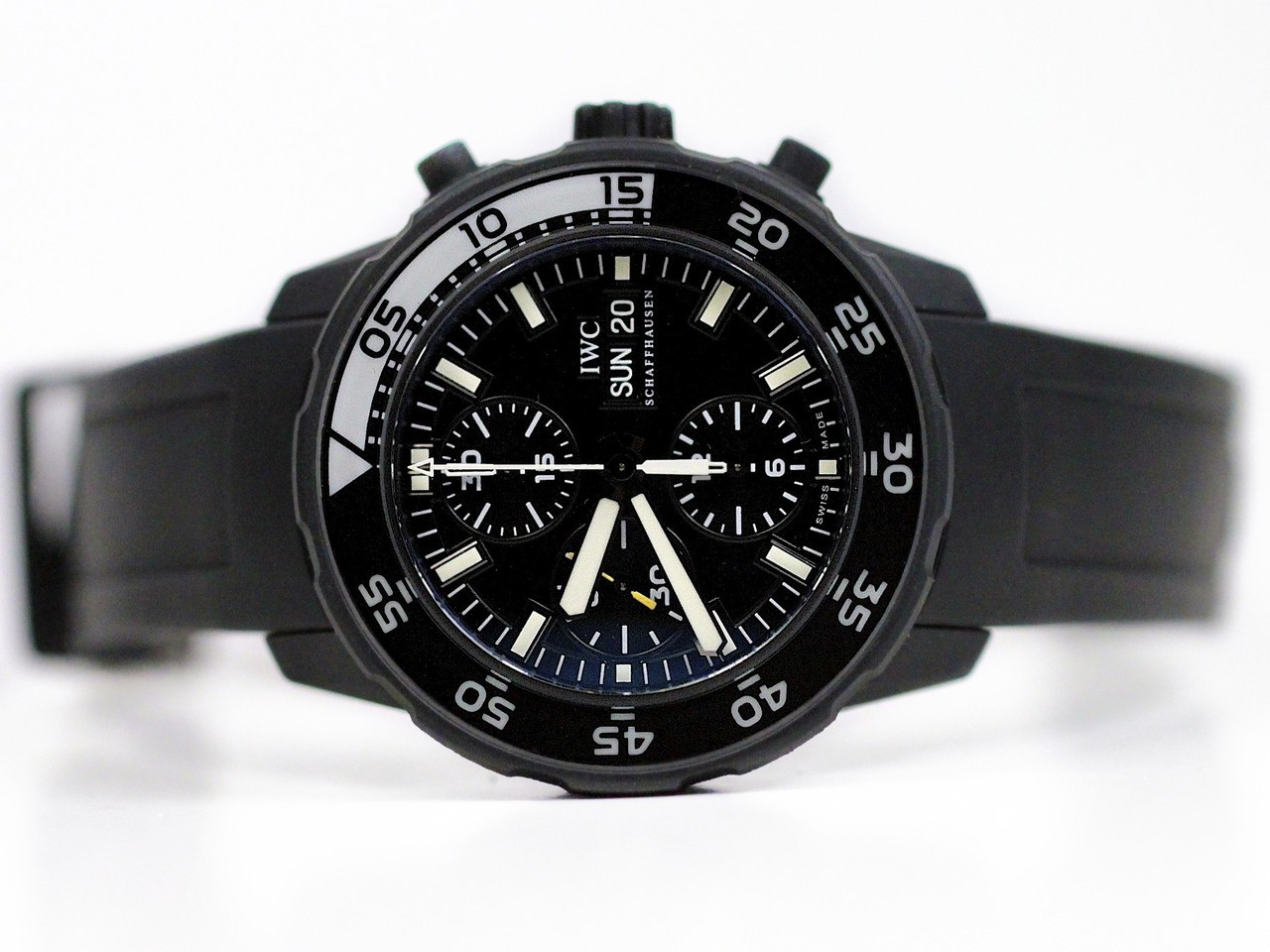 Iwc Aquatimer Black