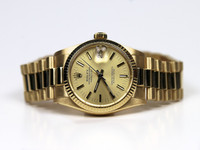 Rolex Watch - Datejust 3/4 size 18K Yellow Gold