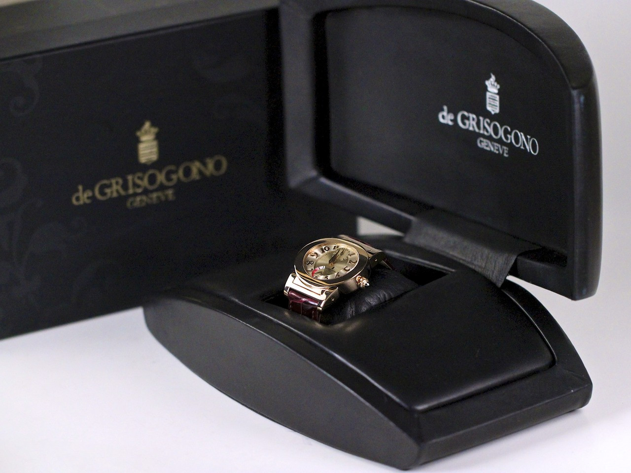 Double Boxed - de Grisogono Watch - Tondo RM N52/A  - Legend of Time - Chicago Watch Center