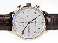 IWC Watch - Portuguese Chronograph Automatic Rose Gold