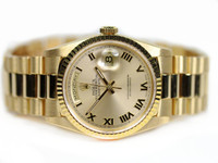 Rolex Oyster Perpetual Watch - Day-Date President 18K Yellow Gold 118238 - Used - www.Legendoftime.com - Chicago Watch Center