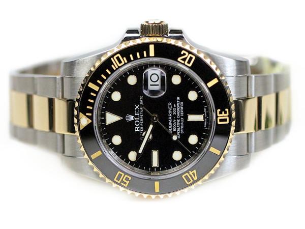 Rolex Watch Submariner Steel and Gold 116613 - www. Legendoftime.com - Chicago Watch Center