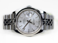 Rolex Watch Datejust 36mm Steel and White Gold