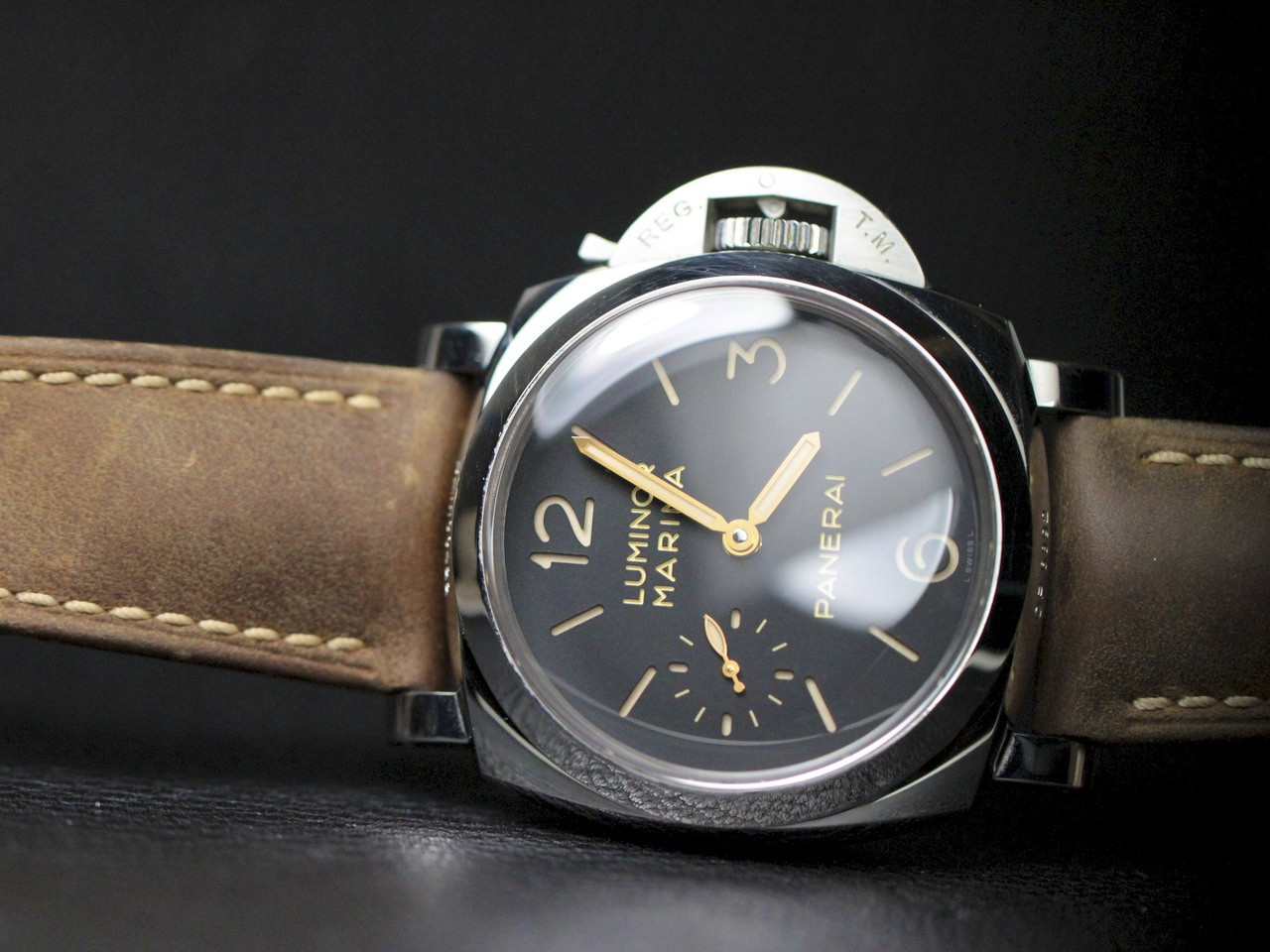 panerai watch luminor marina 1950 3 days pam00422. Black Bedroom Furniture Sets. Home Design Ideas