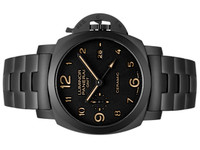New Panerai Watch 1950 3 Day GMT Tuttonero PAM00438 - www.Legendoftime.com - Chicago Watch Center