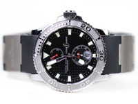 Ulysse Nardin Watch -Maxi Marine Diver Black Dial 263-33-3-92