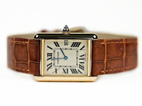 For sale used Classic Cartier Watch - Tank Louis Cartier Yellow Gold W1529756 available online www.Legendoftime.com and in store Chicago Watch Center
