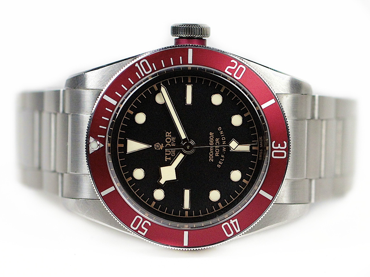 Tudor heritage black bay automatic used sale www - Tudor dive watch price ...