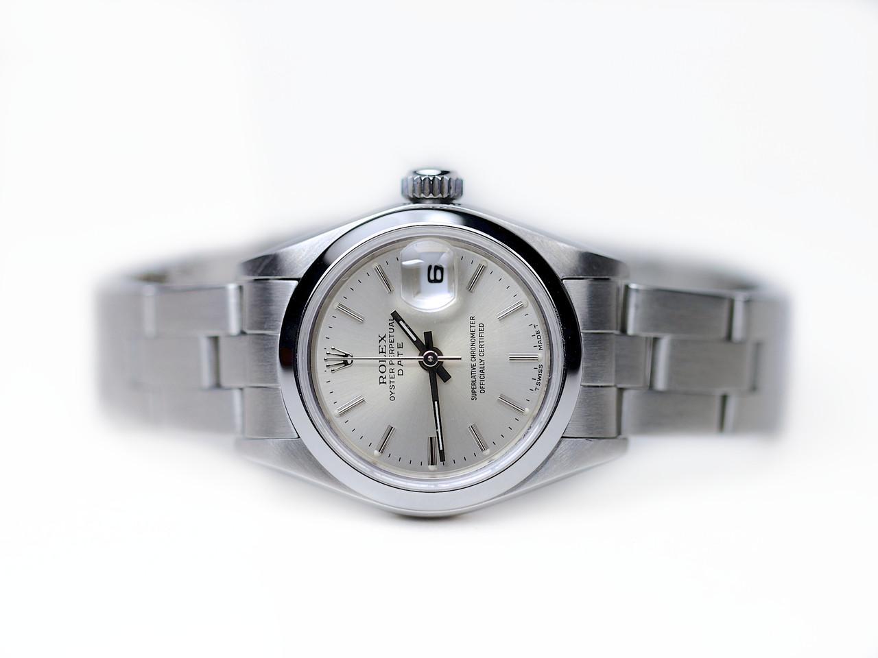 Rolex Watch - Date Ladies Steel R69160A10B7834 - www.Legendoftime.com Chicago Watch Center