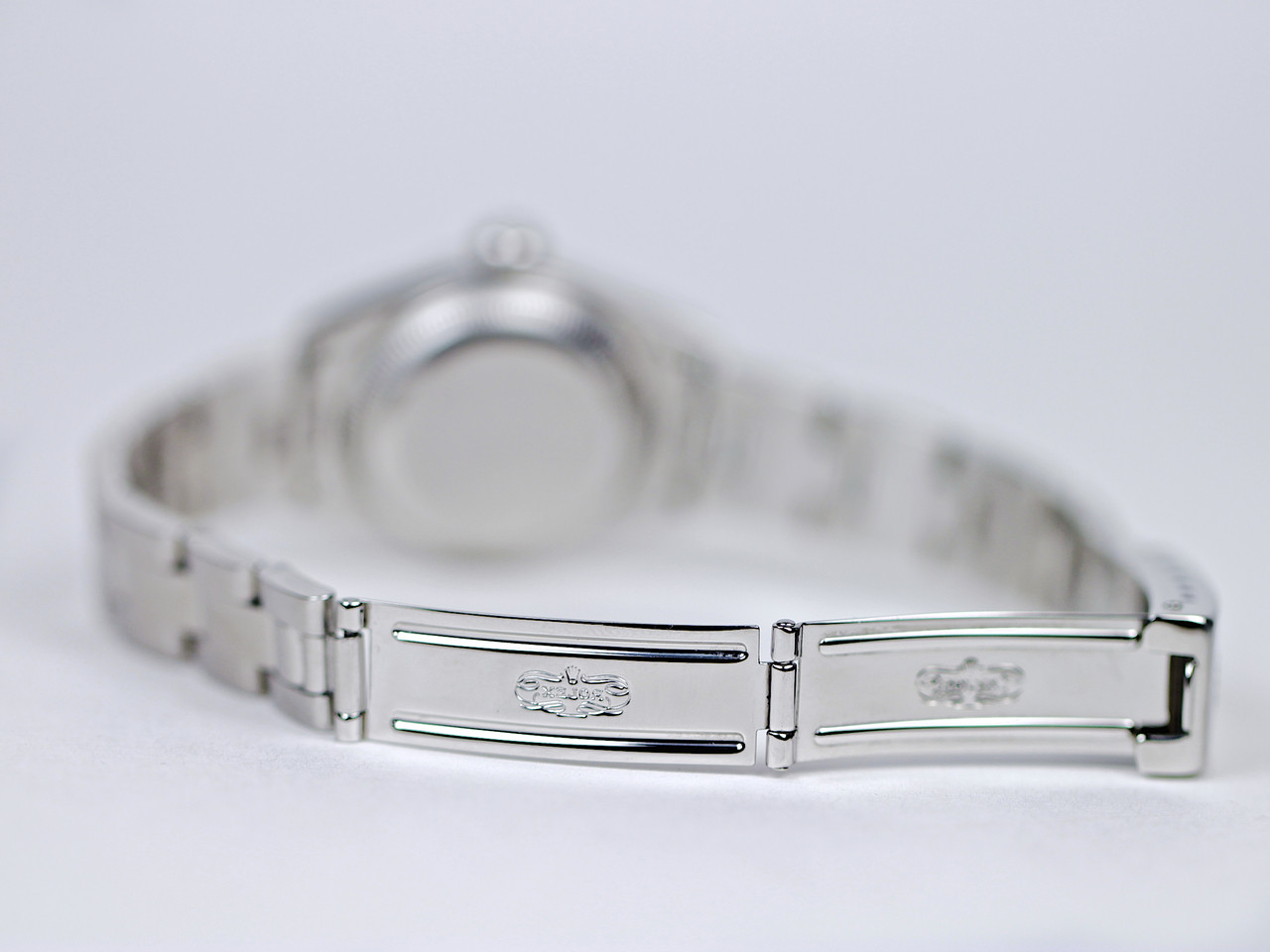 Clasp - Rolex Watch - Date Ladies Steel R69160A10B7834 - www.Legendoftime.com Chicago Watch Center