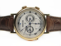Breguet Watch - Classique GMT Alarm Yellow Gold 5707.BA.12.9V6 - www.Legendoftime.com - Chicago Watch Center